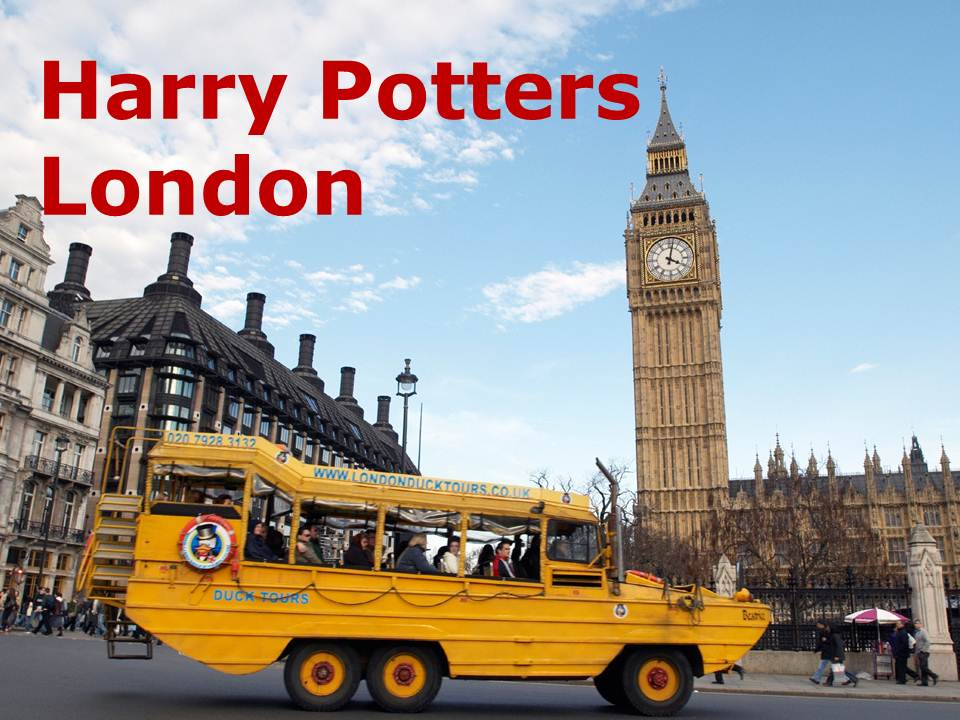 Harry Potters London